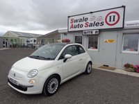 USED 2012 62 FIAT 500 1.2 LOUNGE 3 DOOR 69 BHP £23 PER WEEK, NO DEPOSIT - SEE FINANCE LINK