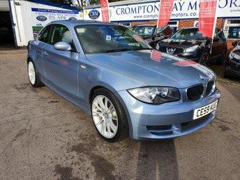 2009 BMW 1 SERIES 2.0 120D SE 2d 175 BHP £4495.00