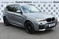 USED 2016 16 BMW X3 3.0L XDRIVE35D M SPORT 5d AUTO 309 BHP BLACK PACK