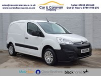 USED 2016 66 CITROEN BERLINGO 1.6 625 ENTERPRISE L1 HDI 1d 74 BHP One Owner Full Service History Buy Now, Pay Later Finance!