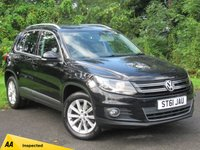 USED 2011 61 VOLKSWAGEN TIGUAN 2.0 SE TDI BLUEMOTION TECHNOLOGY 4MOTION 5d * 12 MONTHS FREE AA MEMBERSHIP * 128 POINT AA INSPECTED *