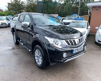 USED 2016 16 MITSUBISHI L200 2.4 DI-D 4X4 BARBARIAN DCB 1d AUTO 178 BHP immaculate inside and out