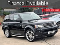 2010 LAND ROVER RANGE ROVER SPORT 3.0 TDV6 HSE 5d AUTO 245 BHP £9888.00