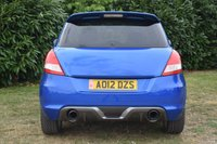USED 2012 12 SUZUKI SWIFT 1.6 SPORT 3d 134 BHP