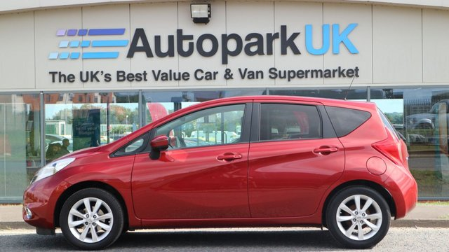 USED 2014 63 NISSAN NOTE 1.2 TEKNA DIG-S 5d 98 BHP LOW DEPOSIT OR NO DEPOSIT FINANCE AVAILABLE
