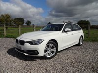 USED 2016 16 BMW 3 SERIES 2.0 320D SPORT TOURING 5d 188 BHP DEMO + 1 OWNER FROM NEW