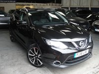 USED 2016 16 NISSAN QASHQAI 1.2 TEKNA DIG-T 5d 113 BHP ANY PART EXCHANGE WELCOME, COUNTRY WIDE DELIVERY ARRANGED, HUGE SPEC