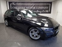 USED 2014 63 BMW 3 SERIES 2.0 318D M SPORT TOURING 5d + 1 OWNER + NAV + LEATHER + 2KEYS