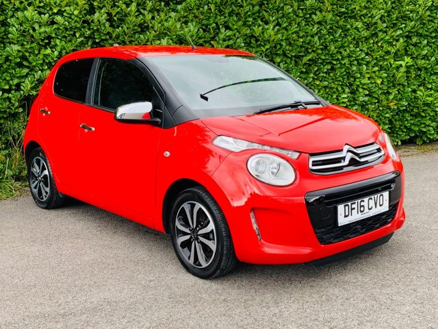 """USED 2016 16 CITROEN C1 1.0 FLAIR ETG 5d AUTO 68 BHP Rare & highly desirable C1 automatic with Citroen's insurance friendly 1.0 petrol engine ensuring this is the ultimate first car. This model is complimented with reverse camera, dab digital radio, 7"""" touchscreen with USB & aux-in music connectivity, bluetooth, air conditioning, rev counter & 4 speaker Hi-Fi that'll be music to your ears. W also provide a spare key with the car, drive this lovely little auto away in under 1 Hour"""