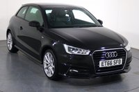 USED 2017 66 AUDI A1 1.4 TFSI S LINE 3d AUTO 123 BHP ONE OWNER From New