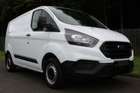 USED 2018 68 FORD TRANSIT CUSTOM 2.0 300 BASE P/V L1 H1 1d 104 BHP ONE COMPANY OWNER, LOW MILES, FORD WARRANTY!!!
