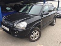 USED 2006 56 HYUNDAI TUCSON 2.0 LIMITED 5d 139 BHP MOT 09/20 4WD. BLACK WITH BLACK LEATHER TRIM. HEATED SEATS. 16 INCH ALLOYS. COLOUR CODED TRIMS. PRIVACY GLASS. SUNROOF. AIR CON. R/CD PLAYER. TOWBAR. MOT 09/20. AGE/MILEAGE RELATED SALE. P/X CLEARANCE CENTRE LS24 8EJ. TEL 01937 849492 OPTION 4