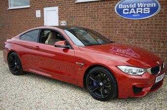 2014 BMW M4 3.0 M4 2d 426 BHP £28990.00