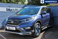 USED 2016 16 HONDA CR-V 2.0 I-VTEC EX 5d AUTO 153 BHP Front & Rear Parking Sensors, Reverse Parking Camera, Satellite Navigation, Bluetooth Connectivity, Diamond-Cut Alloy Wheels, Panoramic Sunroof...