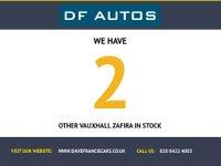USED 2008 08 VAUXHALL ZAFIRA 1.8 DESIGN 5d 140 BHP