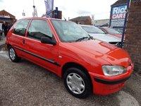 2002 PEUGEOT 106 1.1 ZEST 1 3d 60 BHP £995.00