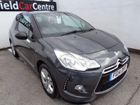 USED 2014 14 CITROEN DS3 1.6 E-HDI DSTYLE 3 door 90 BHP grey £139 A Month With No Deposit Free Road Tax Air Con Cruise Control Bluetooth Privacy Glass