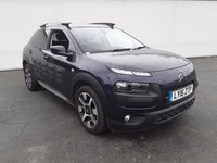 USED 2016 16 CITROEN C4 CACTUS 1.6 BLUEHDI FLAIR ETG6 S/S 5DR AUTO SAT NAV 1 OWNER 98 BHP FULL CITROEN SERVICE HISTORY + FREE 12 MONTHS ROAD TAX + SATELLITE NAVIGATION + REVERSE CAMERA + PARKING SENSOR + BLUETOOTH + CRUISE CONTROL + CLIMATE CONTROL + MULTI FUNCTION WHEEL + PRIVACY GLASS + DAB RADIO + ELECTRIC WINDOWS + ELECTRIC MIRRORS + ALLOY WHEELS