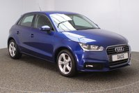USED 2016 16 AUDI A1 1.4 SPORTBACK TFSI SPORT 5DR 1 OWNER 123 BHP SERVICE HISTORY + PARKING SENSOR + BLUETOOTH + CRUISE CONTROL + MULTI FUNCTION WHEEL + AIR CONDITIONING + DAB RADIO + ELECTRIC WINDOWS + RADIO/CD/USB + ELECTRIC MIRRORS + 16 INCH ALLOY WHEELS