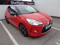 USED 2012 12 CITROEN DS3 1.6 DSTYLE PLUS 3 door 120 BHP red £116 A MONTH WITH NO DEPOSIT CLIMATE CONTROL CRUISE CONTROL PRIVACY GLASS PARKING SENSORS DRIVERS SEAT HEIGHT ADJUSTMENT