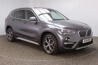 USED 2016 16 BMW X1 2.0 SDRIVE18D XLINE 5DR SAT NAV HEATED LEATHER SEATS 1 OWNER 148 BHP FULL BMW SERVICE HISTORY + HEATED LEATHER SEATS + SATELLITE NAVIGATION + PARKING SENSOR + BLUETOOTH + CRUISE CONTROL + CLIMATE CONTROL + MULTI FUNCTION WHEEL + DAB RADIO + XENON HEADLIGHTS + ELECTRIC WINDOWS + RADIO/CD/AUX/USB + ELECTRIC MIRRORS + 18 INCH ALLOY WHEELS