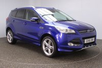 USED 2016 16 FORD KUGA 1.5 TITANIUM X SPORT 5DR AUTO HEATED LEATHER SEATS 1 OWNER 180 BHP FORD SERVICE HISTORY + HEATED LEATHER SEATS + ACTIVE PARK ASSIST + PANORAMIC ROOF + REVERSE CAMERA + PARKING SENSOR + BLUETOOTH + CRUISE CONTROL + CLIMATE CONTROL + MULTI FUNCTION WHEEL + XENON HEADLIGHTS + PRIVACY GLASS + DAB RADIO + ELECTRIC WINDOWS + ELECTRIC MIRRORS + 19 INCH ALLOY WHEELS