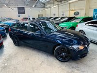 USED 2014 14 BMW 3 SERIES 2.0 320d EfficientDynamics Business Edition Touring (s/s) 5dr FULL LEATHER HTD STS 1OWN FSH!