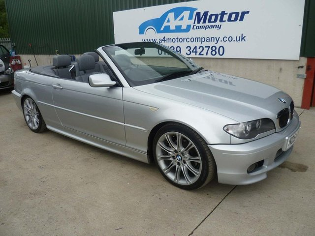 2004 54 BMW 3 SERIES 2.5 325Ci Sport 2dr