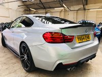 USED 2014 64 BMW 4 SERIES 3.0 430d M Sport 2dr SUNROOF / 20S PRO NAV!