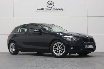 2013 BMW 1 SERIES 1.6 116D EFFICIENTDYNAMICS BUSINESS 5d 114 BHP £8699.00