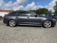 USED 2013 AUDI A6 2.0 AVANT TDI S LINE 5d AUTO 175 BHP STUNNING DAYTONA GREY S LINE BLACK EDITION STYLING
