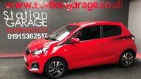2014 PEUGEOT 108 1.2 ALLURE 5d 82 BHP £5295.00