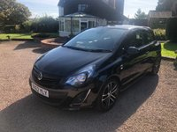 USED 2012 62 VAUXHALL CORSA 1.4 BLACK EDITION 3d 118 BHP 1 owner from new.. Full Vauxhall history. very well looked after car