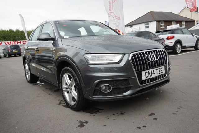 USED 2014 14 AUDI Q3 2.0 TDI S LINE 5d 138 BHP * JUST ARRIVED *CLEAN EXAMPLE*
