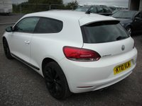 USED 2010 10 VOLKSWAGEN SCIROCCO 2.0 GT TDI 3d 140 BHP Sat nav - Heated seats - Cat S