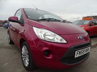 USED 2009 59 FORD KA 1.2 STYLE 3d MINT CONDITION LOW MILES