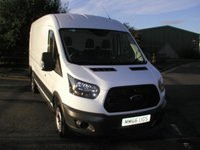 USED 2016 66 FORD TRANSIT 2.0 350 L3 H2 1d 129 BHP Van Only 28000 miles, Service History, 1 Owner from New