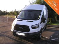 USED 2018 18 FORD TRANSIT 2.0 350 L3H3 PANEL VAN  129 BHP Only 27000 miles, Service History, 1 Owner from New
