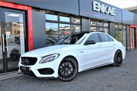 USED 2016 66 MERCEDES-BENZ C CLASS 2.1 C250 D AMG LINE PREMIUM AUTO FULLY LOADED PAN ROOF, REV CAM,