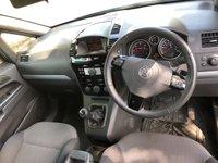 USED 2011 11 VAUXHALL ZAFIRA 1.7 DESIGN CDTI ECOFLEX 5d 108 BHP