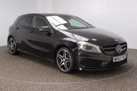 USED 2014 63 MERCEDES-BENZ A CLASS 1.8 A200 CDI BLUEEFFICIENCY AMG SPORT 5DR SAT NAV HEATED HALF LEATHER SEATS MERCEDES SERVICE HISTORY + HEATED HALF LEATHER SEATS + SATELLITE NAVIGATION + PANORAMIC ROOF + PARKING SENSOR + BLUETOOTH + CRUISE CONTROL + MULTI FUNCTION WHEEL + AIR CONDITIONING + PRIVACY GLASS + XENON HEADLIGHTS + ELECTRIC WINDOWS + ELECTRIC MIRRORS + 18 INCH ALLOY WHEELS