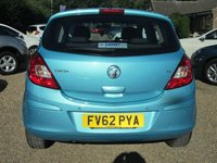 USED 2012 62 VAUXHALL CORSA 1.4 EXCLUSIVE AC 5d 98 BHP FULL SERVICE HISTORY - SEE IMAGES
