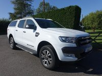 2016 FORD RANGER WILDTRAK 4X4 DOUBLE CAB PICK UP 3.2 DCI 200 BHP AUTOMATIC £17995.00