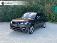 USED 2016 16 LAND ROVER RANGE ROVER SPORT 4.4 1d AUTOBIOGRAPHY DYNAMIC