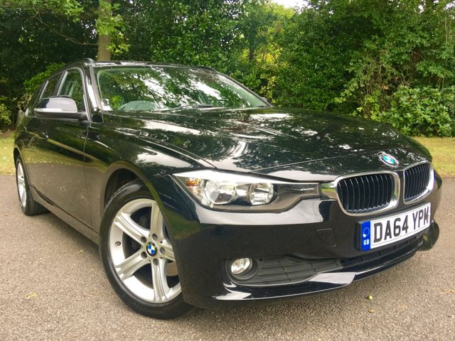 2014 64 BMW 3 SERIES 2.0 320D XDRIVE SE TOURING 5d AUTO 181 BHP 4X4 ONLY 24,500 MILES 2 PRIVATE OWNERS