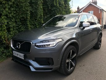 2016 VOLVO XC90 2.0 T8 TWIN ENGINE R-DESIGN AUTOMATIC - FULL SERVICE HISTORY - ULEZ COMPLIANT - PANORAMIC SUNROOF, SENSUS NAVIGATION SYSTEM, 360 PARKING CAMERA, BLIND SPOT INFORMATION SYSTEM,   £34990.00