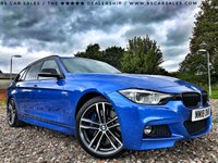 USED 2018 18 BMW 3 SERIES 3.0 340I M SPORT SHADOW EDITION TOURING 5d AUTO 322 BHP