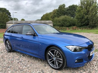 2018 BMW 3 SERIES 3.0 340I M SPORT SHADOW EDITION TOURING 5d AUTO 322 BHP £28000.00