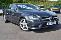 2013 MERCEDES-BENZ CLS CLASS 3.0 CLS350 CDI BLUEEFFICIENCY AMG SPORT 4d AUTO 265 BHP £15999.00