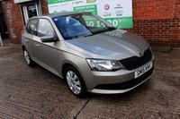 USED 2015 15 SKODA FABIA 1.0 S MPI 5d 59 BHP +ONE PREVIOUS OWNER +LOW TAX.